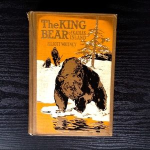 Vintage The King Bear Book